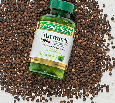 Turmeric 1,000mg plus Black Pepper
