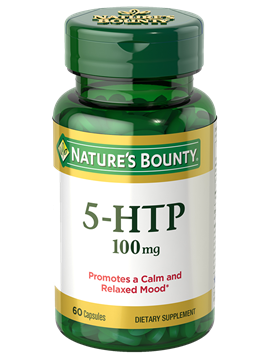 5-HTP - 100 mg (60 Capsules) | Nature's Bounty - Be Your Healthy Best