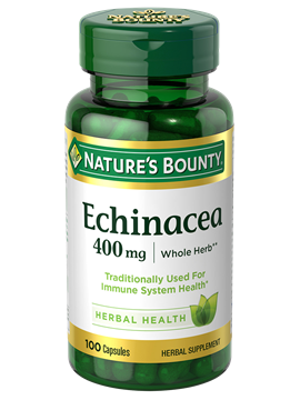 echinacea 400 mg 100 capsules nature s bounty be your
