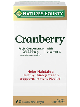 Cranberry Fruit Concentrate plus Vitamin C