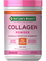 Collagen Beauty Blend - Unflavored - 15g of Collagen (10.5 oz Powder)