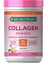 Collagen Beauty Blend - Vanilla Flavored - 15g of Collagen (12 oz Vanilla Powder)