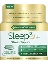 Sleep3 + Stress Support (56 Tablets)