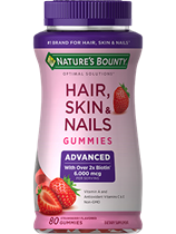Advanced Hair, Skin & Nails (80 Gummies)
