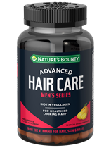 Advanced Men's Series Hair Care Gummies (100 Gummies)