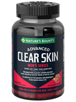 Advanced Men's Series Clear Skin Gummies (60 Gummies)