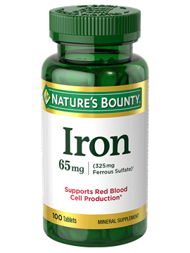 Iron-Ferrous Sulphate - 28mg (100 Tablets)