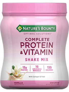 Complete Protein Vitamin Shake Mix 16 Oz Nature S