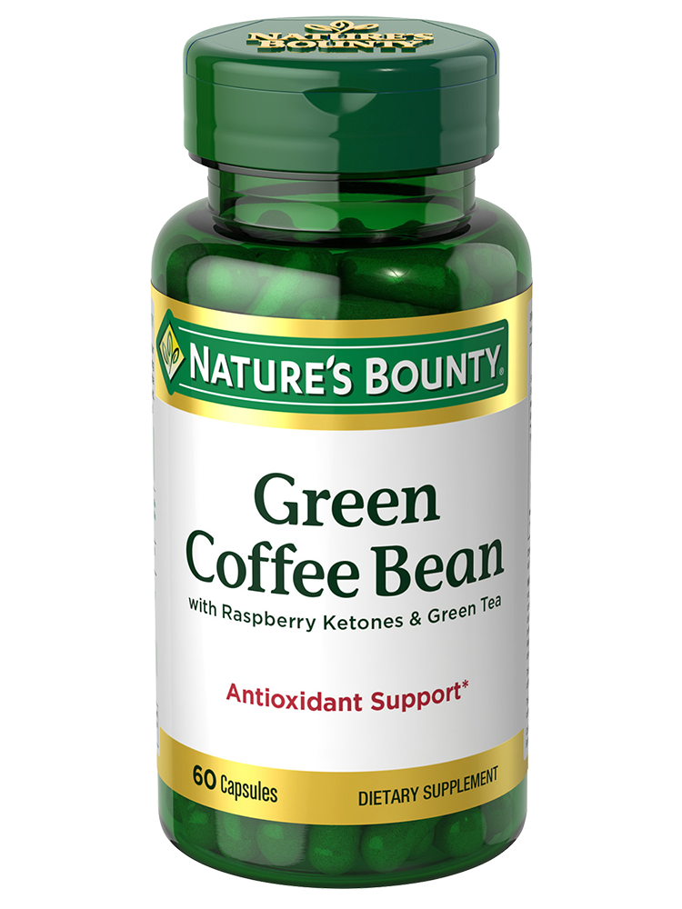 Green Coffee Bean 60 Capsules Nature S Bounty Be Your Healthy Best