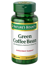 Green Coffee Bean with Raspberry Ketones & Green Tea