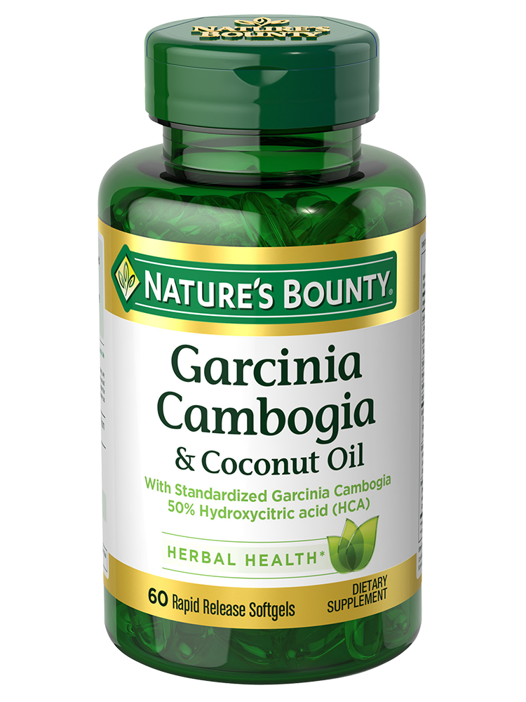 Garcinia Cambogia Coconut Oil 60 Rapid Release Softgels
