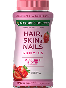 Hair, Skin & Nails (80) | Nature's Bounty - Be Your ...