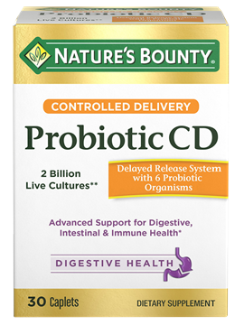 Controlled Delivery Probiotic CD