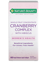 Whole Fruit Concentrate Cranberry Complex with Hibiscus - 350 mg (60 Softgels)