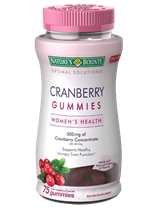 Women's Cranberry Gummies