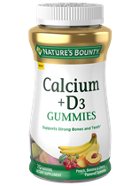 Calcium Plus Vitamin D3 Gummies