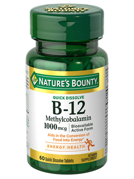 Quick Dissolve Methylcobalamin  B-12