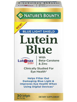 Lutein Blue | Nature's Bounty - Be Your Healthy Best