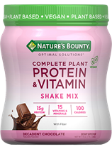 Complete Plant Protein & Vitamin Shake Mix