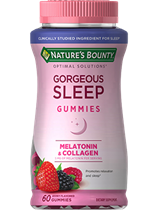 Gorgeous Sleep Gummies - 5 mg Melatonin; 100 mg Collagen (60 Gummies)