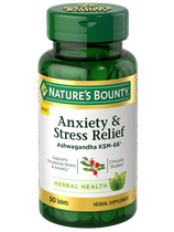 Anxiety & Stress Relief (50 Tablets)