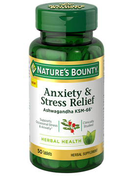 Anxiety & Stress Relief | Nature's Bounty - Be Your Healthy Best