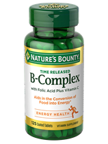 B-Complex with Folic Acid plus Vitamin C