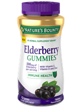 Elderberry Gummies - 100 mg (70 Gummies)