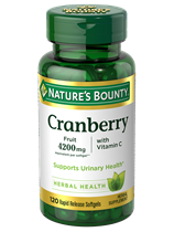 Cranberry fruit  plus Vitamin C