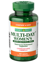 Multi-Day Women's With Calcium & Iron (100 Tablets)