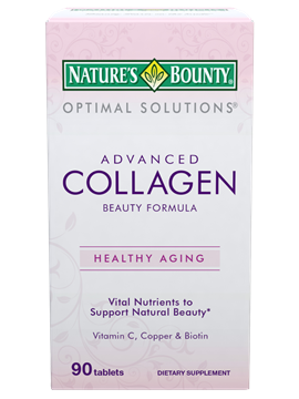 Nature S Bounty Collagen  Tablets Size