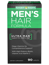 Men's Hair Formula (90 Caplets)