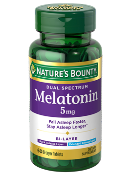 Bi-Layer Melatonin