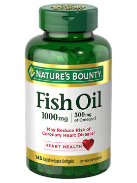Cholesterol free fish oil 1 000 mg 145 rapid release for Is fish oil good for cholesterol
